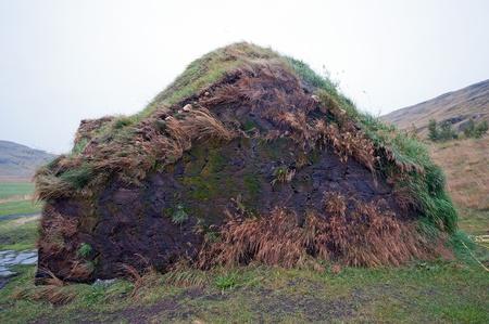 discoverer: El norte de Islandia, replica de la cancha supuesta Leif Eriksson, el descubridor real de Am�rica, en Haukatal