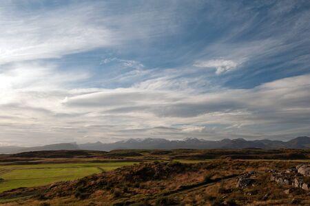 The Northwest Islands, mountains on the peninsula Sneifellsness by the port city Stykkusholmur