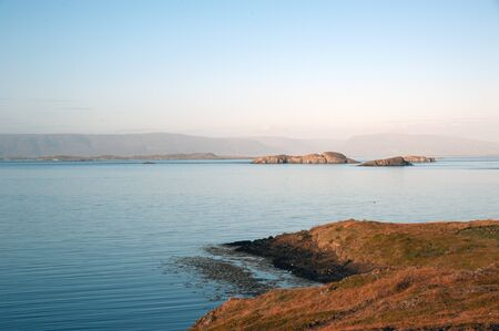 The West Island, overlooking the Breidafj�rdur of Stykkisholmur out, in the north of the peninsula Sneifellsnes