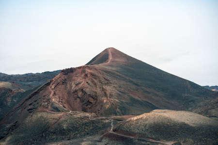 La Plama 2013, the area around the volcanoes San Antonio and Teneguia Stock Photo
