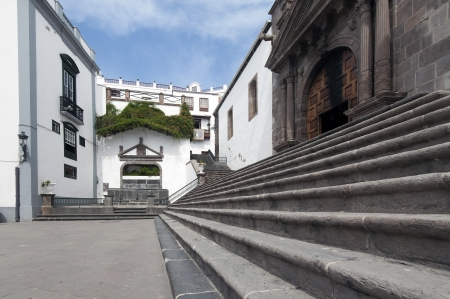 marte: La Palma in 2013 - Plaza de Santo Domingo, the capital of Santa Cruz in the east of the island
