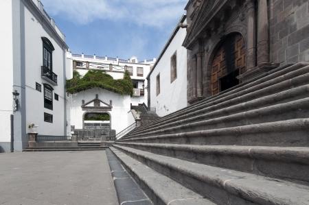 La Palma in 2013 - Plaza de Santo Domingo, the capital of Santa Cruz in the east of the island