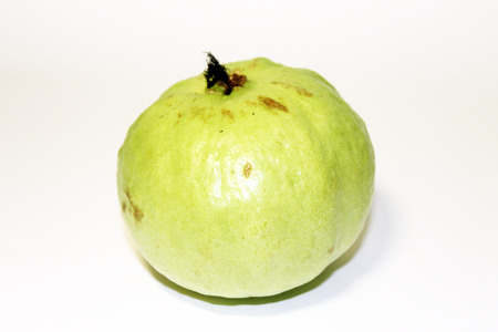 dietetical: Guava on white background Stock Photo
