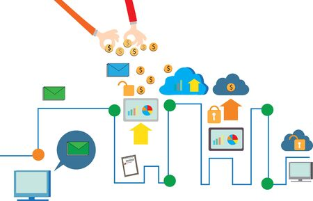 house exchange: Communication technology And using cloud house The data exchange between safe