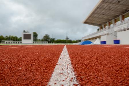 Running race lane Banco de Imagens - 108597047
