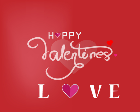 card Valentine's day heart on abstract background Banco de Imagens - 120741149