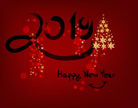 happy new year Banco de Imagens - 120741163