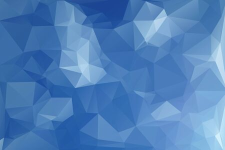 clear sky: Abstract Polygonal From Clear Sky Background. Vector Illustration