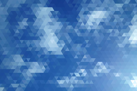 clear sky: Abstract Clear Sky Geometric Triangular Low Poly. Vector Illustration