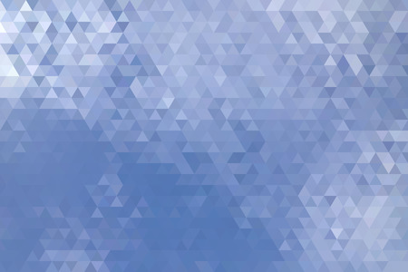 polyhedron: Abstract Clouds And Sky Geometric Triangular Low Poly. Vector Illustration Illustration