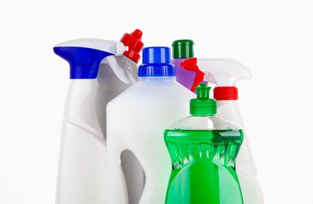 productos quimicos: Limpieza Foto de archivo