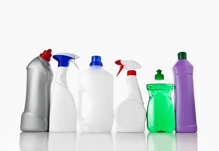 cleaning products: Limpieza Foto de archivo
