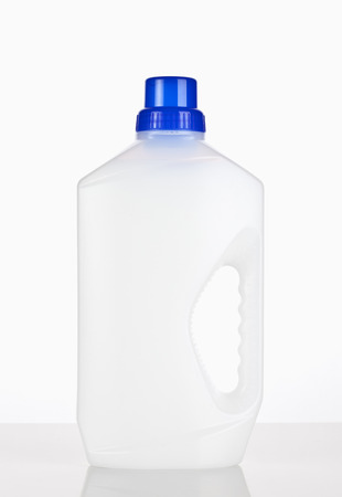 cleaning supplies bottle Stock Photo