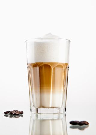 Latte Macchiato Lizenzfreie Bilder