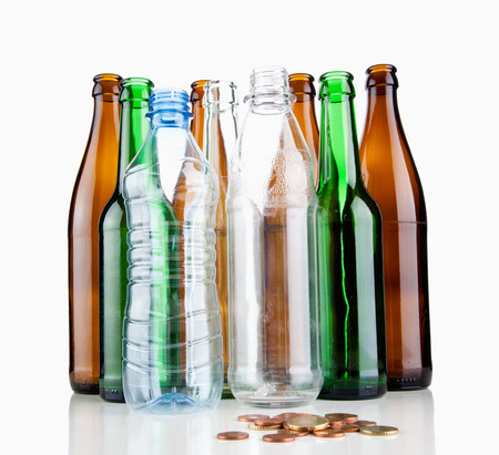 botellas vacias: Botellas vac�as