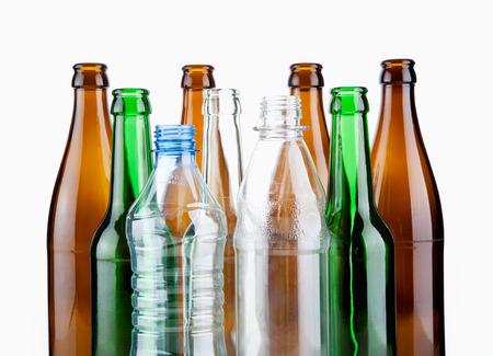 leere flaschen: Leergut
