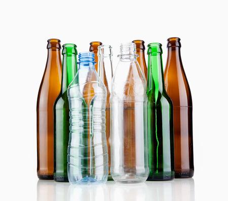 Bottiglie vuote Archivio Fotografico - 41509740