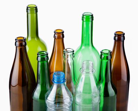 botellas vacias: Botellas vacías