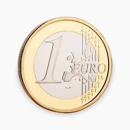 euro-munt Stockfoto