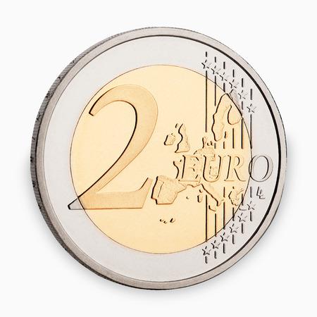 counted: euro coin