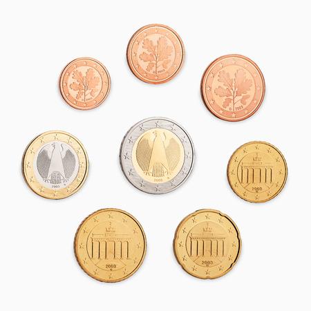 greek coins: euro coin