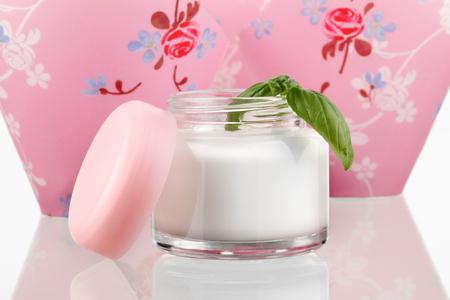 Skin Lotion Cream isolated on white background