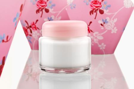 Skin Lotion Cream Stock Photo