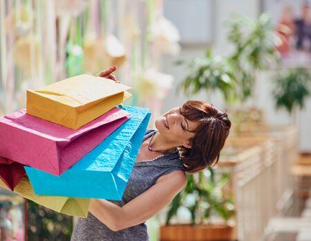 shopper: Pretty young shopper fun