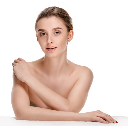 Healthy beautiful woman