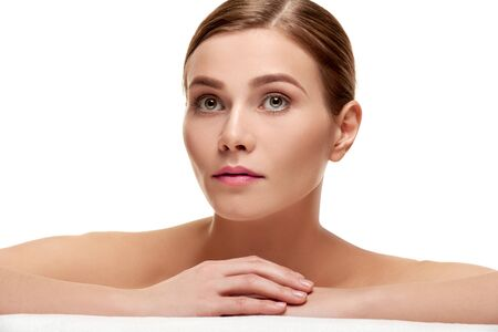 maquillage: Beautiful spa woman