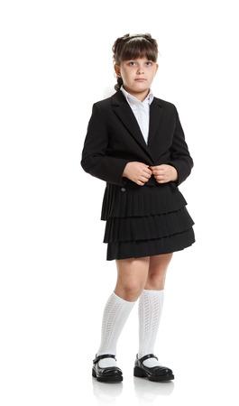 Colière en uniforme noir Banque d'images - 81034953