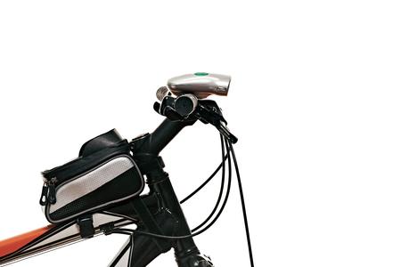 Handlebar of modern bicycle