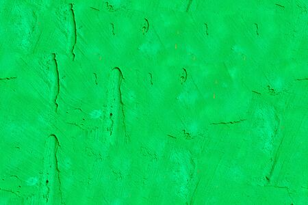 bright green stone wall