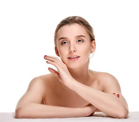maquillage: Sensual pretty girl