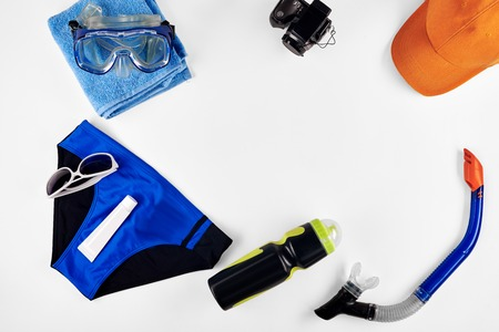 bather: Set of items for sea recreation