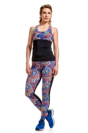 Woman posing in sportswear Stock Photo
