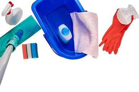 Household cleaning set
