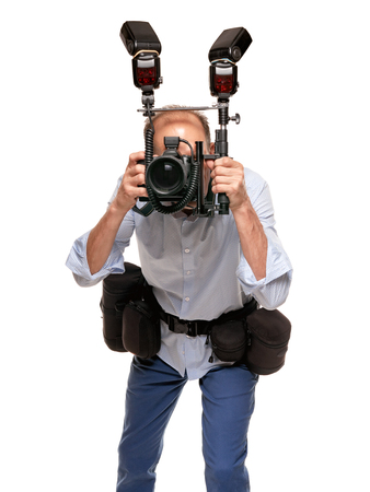 working man photographer