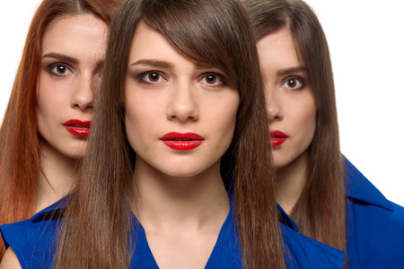 pessoas: Beautiful triplets girls