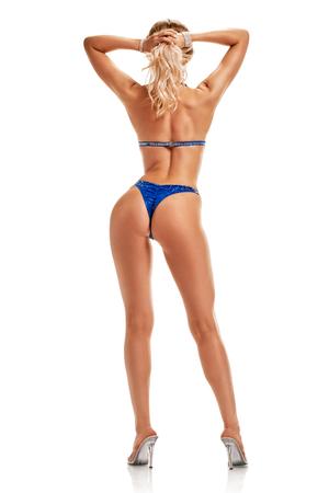 Shapely woman in bikini