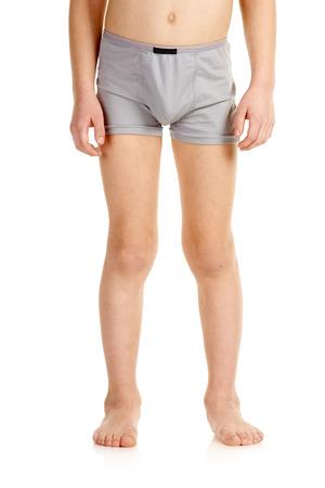 Valgus deformity of legs Standard-Bild