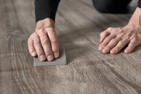 Film sticking process