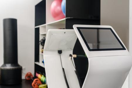 EMS machine in gym