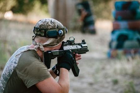 Lasertag shooting game