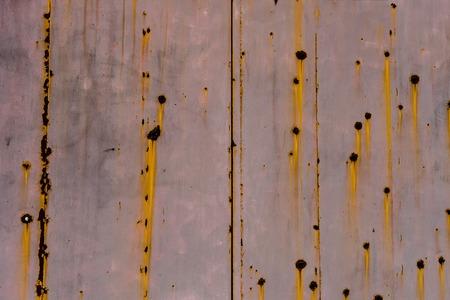 Bullet holes in wall 免版税图像