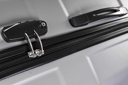 Suitcase with combination lock