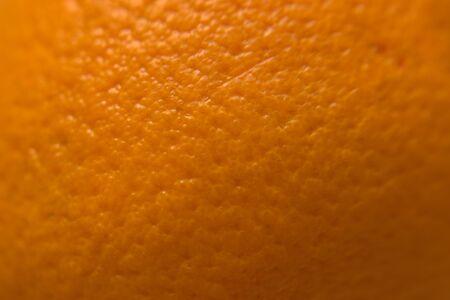 Ripe orange peel macro surface for texture or background