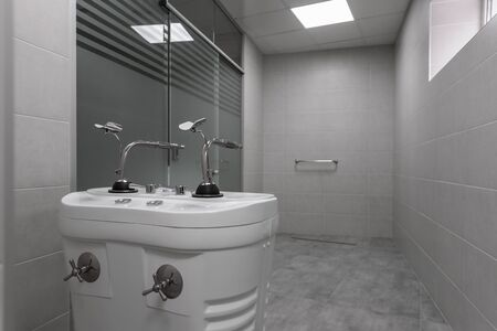 Room for high pressure massage with Sharko shower in spa