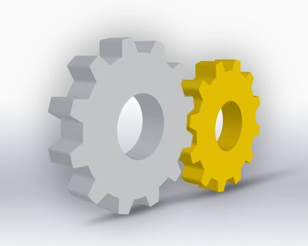 Gearwheel Stock Photo