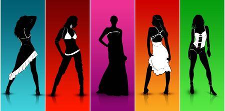 colorful Fashion Show